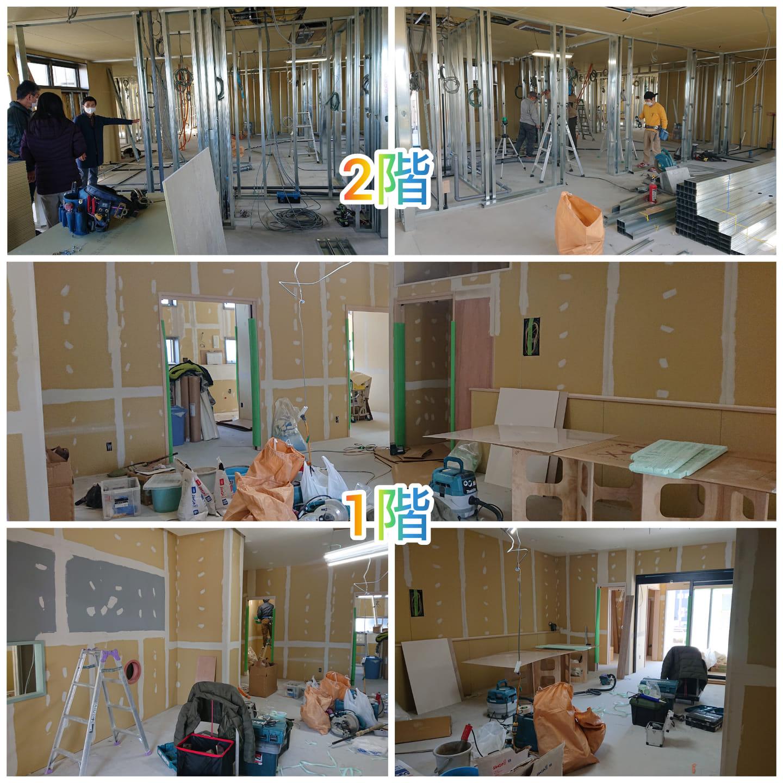 2階も工事始まりました!