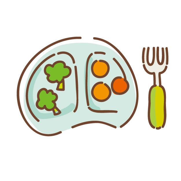 【10月】給食の献立・食材表